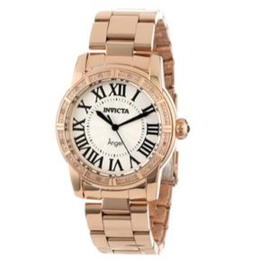 Invicta Angle Collection Rose Gold Watch